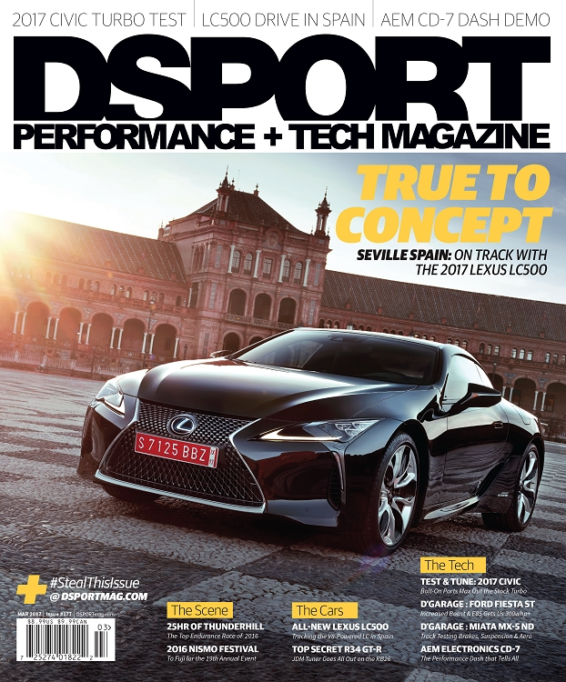 DSPORT March 2017 #177