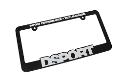 License Plate Frame DSPORT
