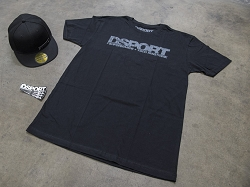 Distressed Bundle Pack (T-Shirt, Hat and Stickers)