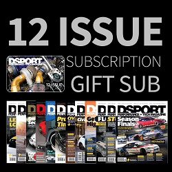 DSPORT Magazine Print U.S Subscription w/ Additional FREE 12 Issue Gift Sub