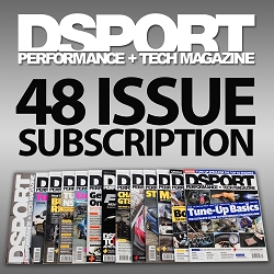 DSPORT Magazine Print U.S Subscription - 48 Issues