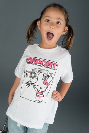 Toddler Tee DSPORT White Bunny