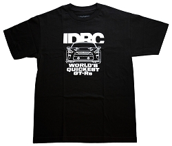 T-Shirt Men's IDRC World's Quickest GT-Rs